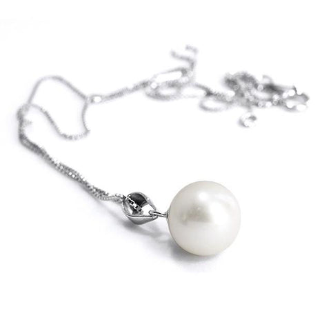 Kelvin Gems Lydia Swarovski Pearl Earrings Necklace GiftSet