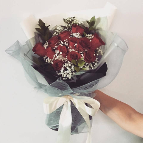 Red Rose Flower Bouquet (Big Size) (Kota Kinabalu Delivery Only)