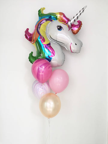 Basic Unicorn Balloon Set