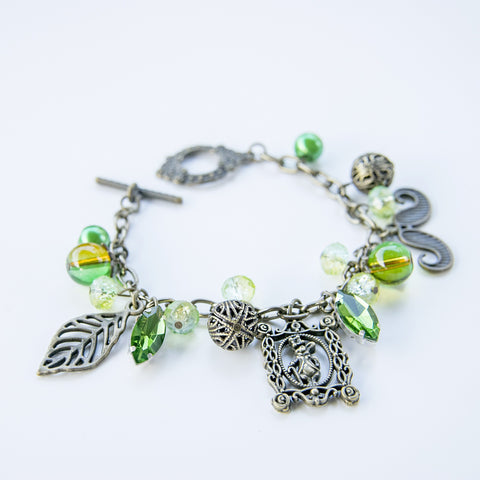 Whimsy from the Jungle Necklace and Bracelet Set