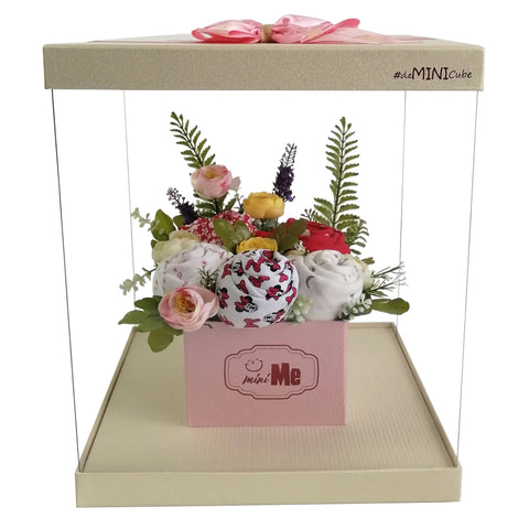 100 Days Gift Bouquet for New Born Baby Girl - HDG 007