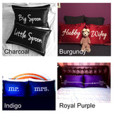 Personalised SCRIPT Pillowcases (Pre-order 15 to 25 working days)