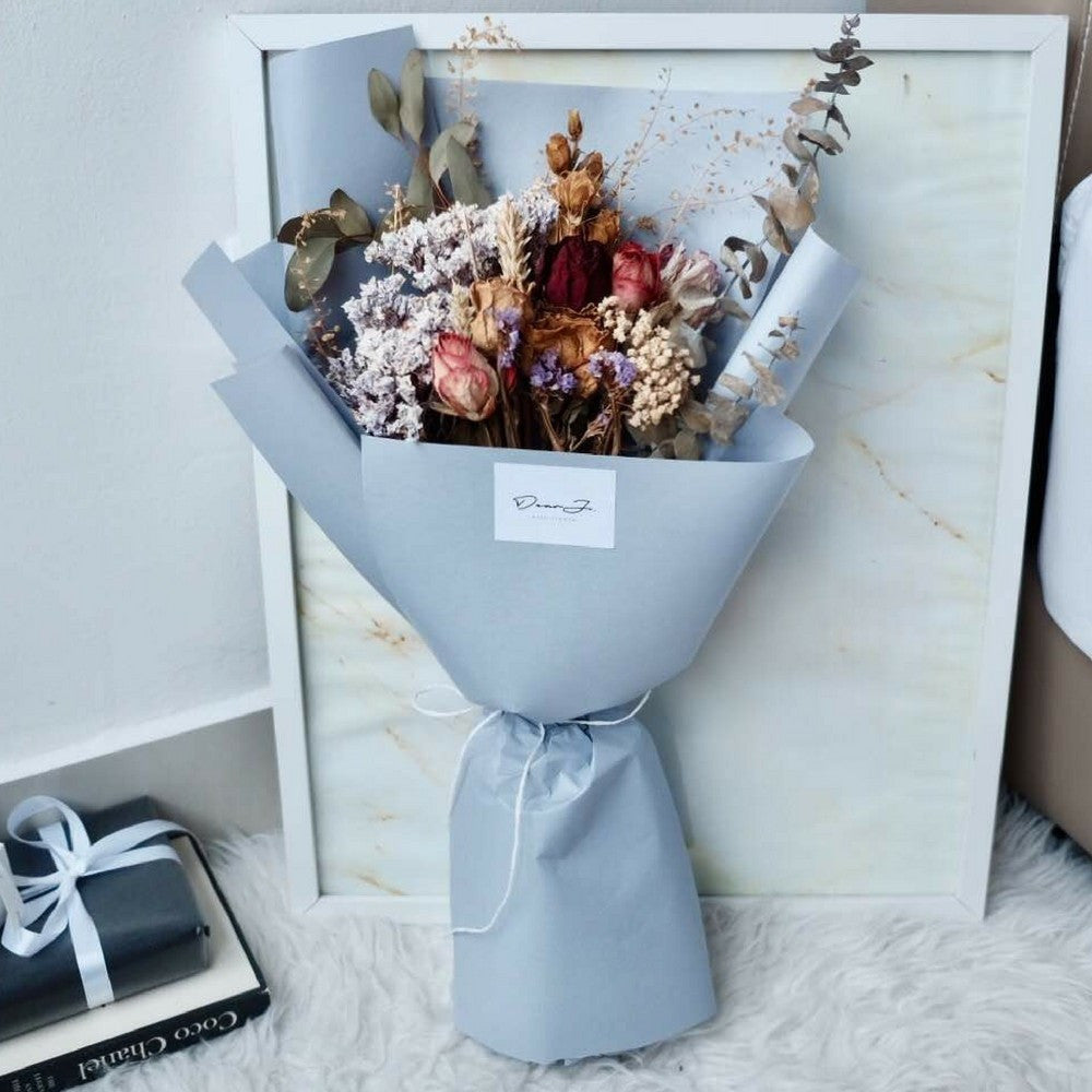 Vintage Dried Flower Bouquet   Giftr - Malaysia\'s Leading Online ...