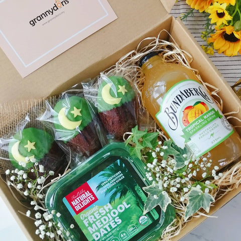 Raya Box with Bundaberg Passion Fruit Drink
