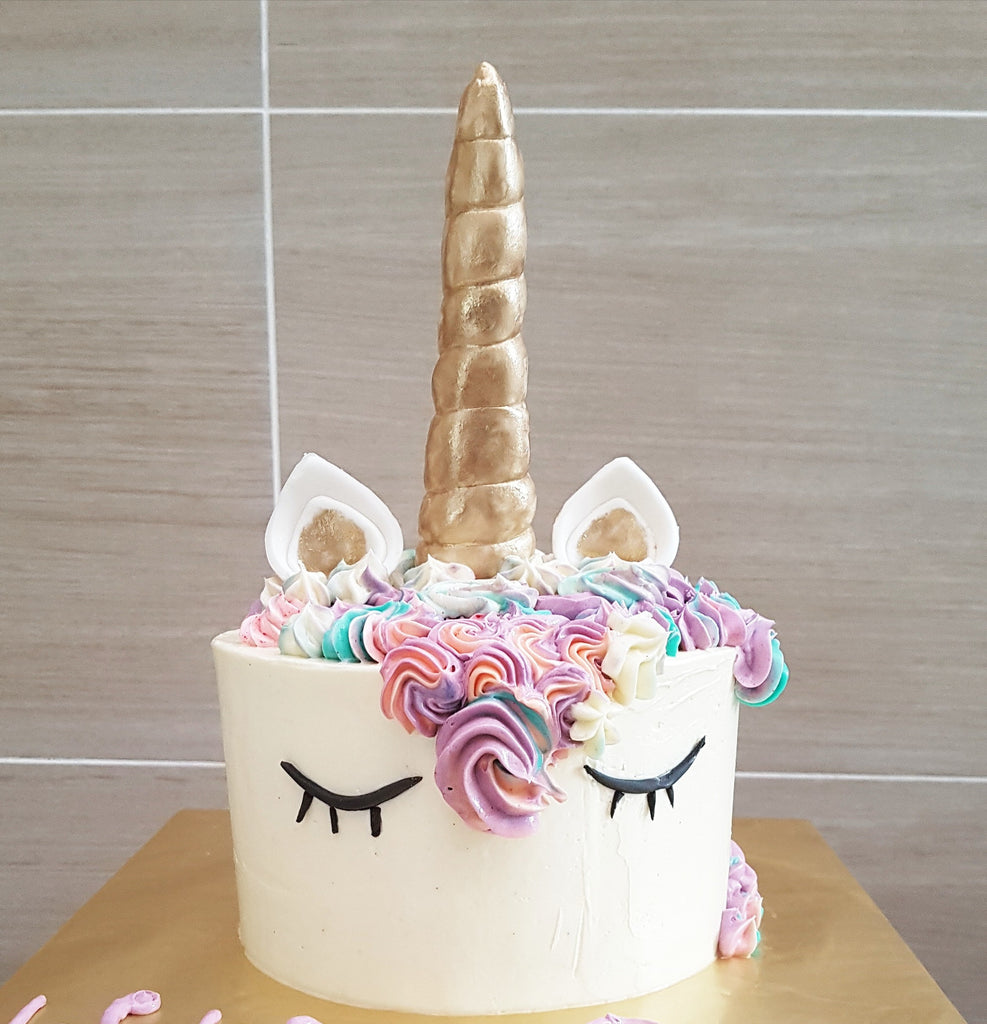 White Unicorn Cake (Self Pickup Only)