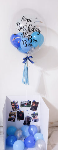 Bubble Balloon Surprise Box