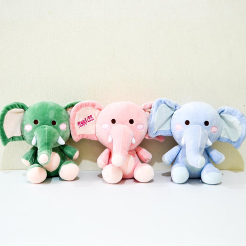 Personalised Couple Baby Elephant