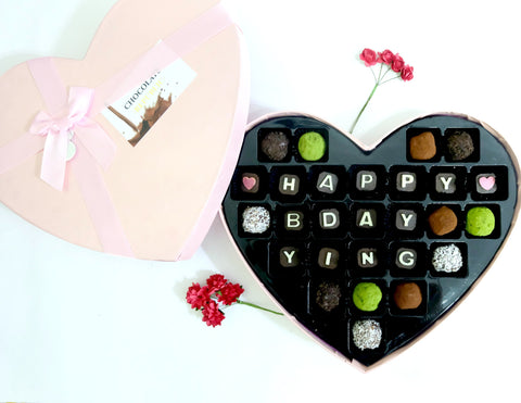 LOVE Chocolate Truffles Gift (27pcs)