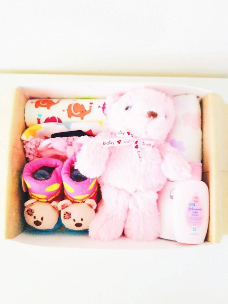 Buttercup Bear Gift Box (Nationwide Delivery)