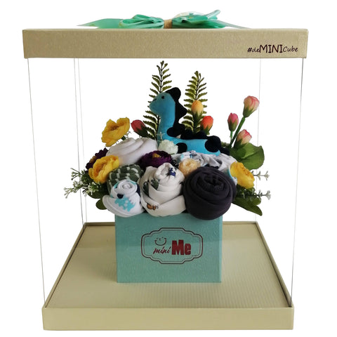 100 Days Gift Bouquet for New Born Baby Boy - HDB 012