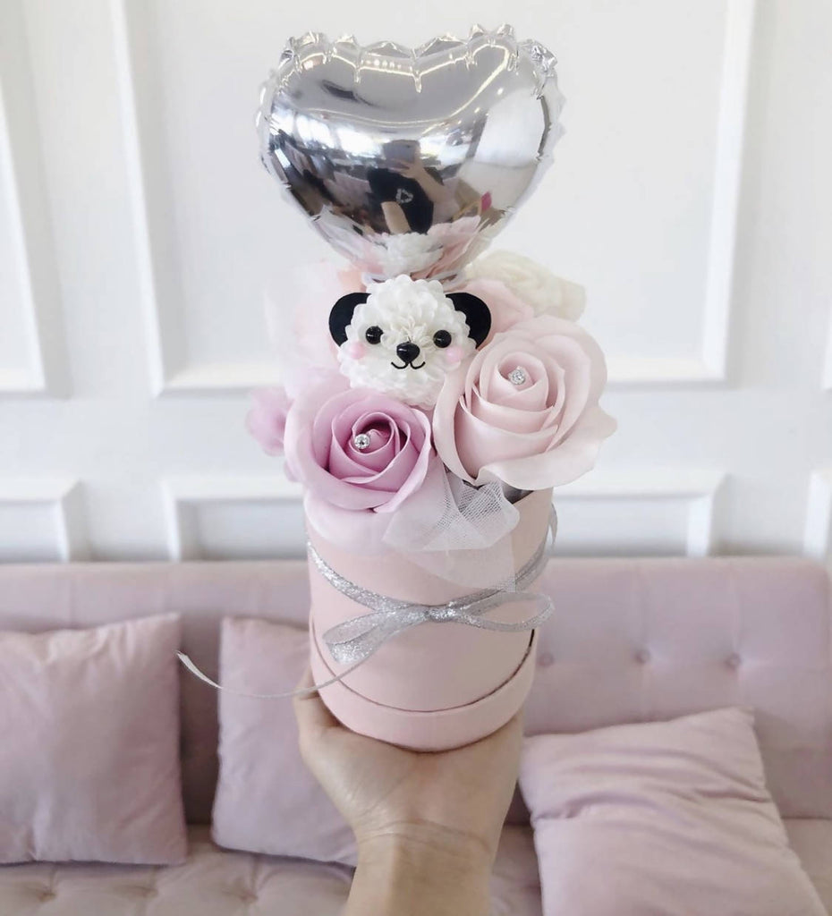 Roses with Balloon Arrangement