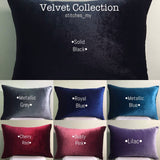 Mother's Day 2021 Personalised Velvet Pillow (With Icon)