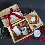 Christmas 2018 Gift Box-  XL16 WHITE (Nationwide Delivery)