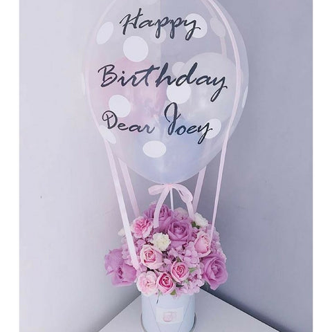 Pastel Balloon Bloom Box