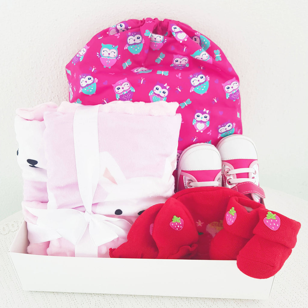 Adorable Girl Children Gift Basket (Nationwide Delivery)