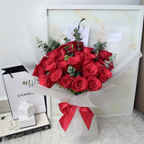 Scarlett Red Roses Bouquet