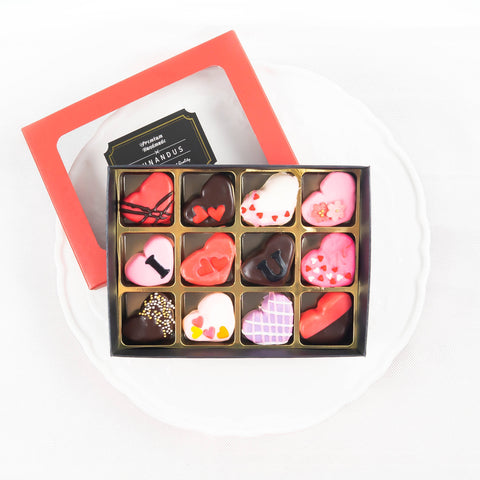 Valentine's Day 2020 Chocolate Marshmallows (12 pieces)