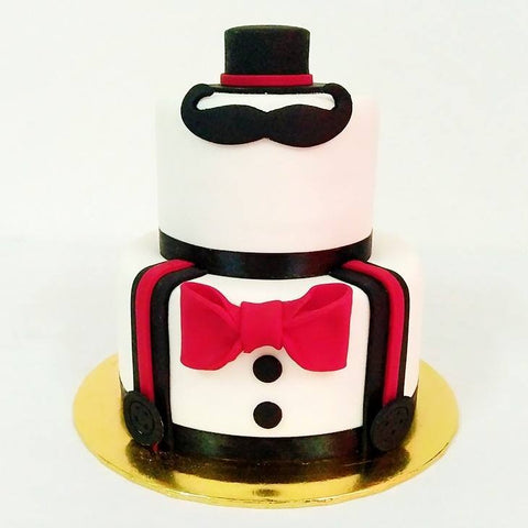Little Man Cake (2 tiers)