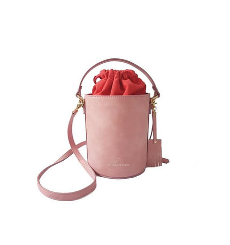 Small Chubby Bucket Bag-Rosey Pink