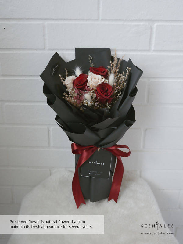 (Valentine's Day 2020) Forever Yours Preserved Flower Bouquet