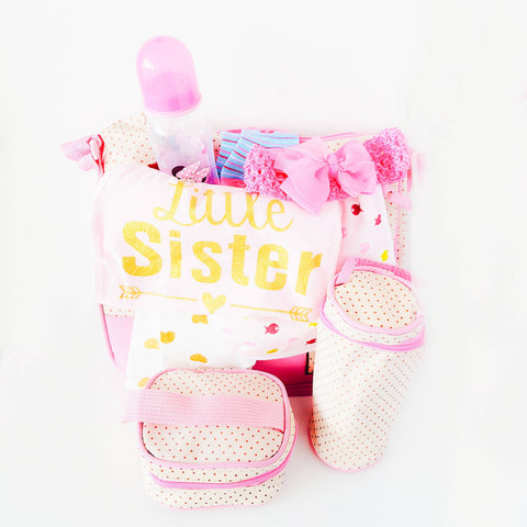 3in1 Baby Girl Bag Gift Set