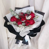 Valentine's Day 2020 Red Roses Bouquet (Kuching Delivery Only)
