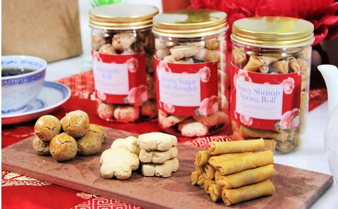 CNY Premium Cookies - The Perfect 3 (Free Delivery Within Peninsular Malaysia)