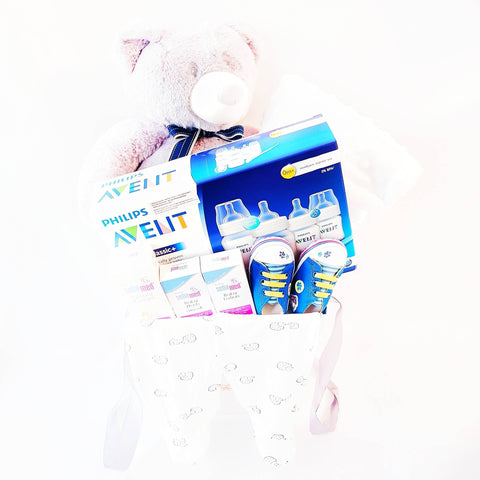 Beary Love Baby Gift Basket