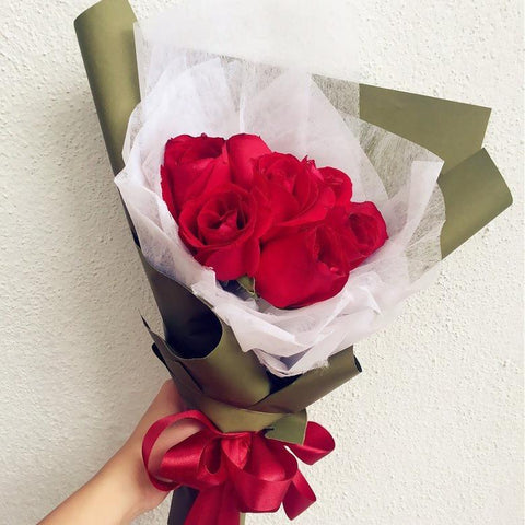 10 Stalks Rose Bouquet