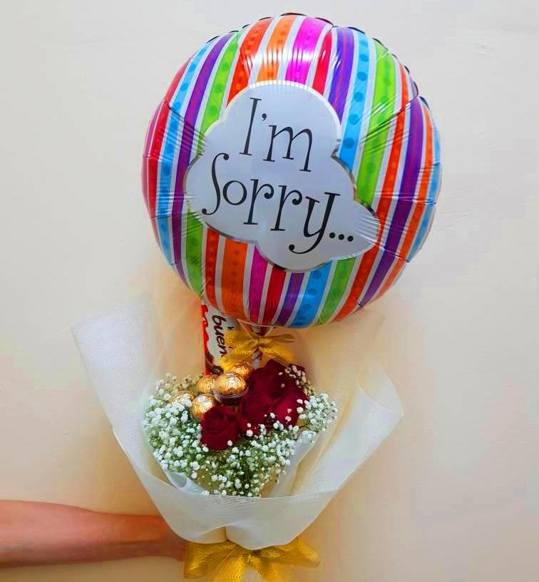 Apology Ferrero Roses Bouquet