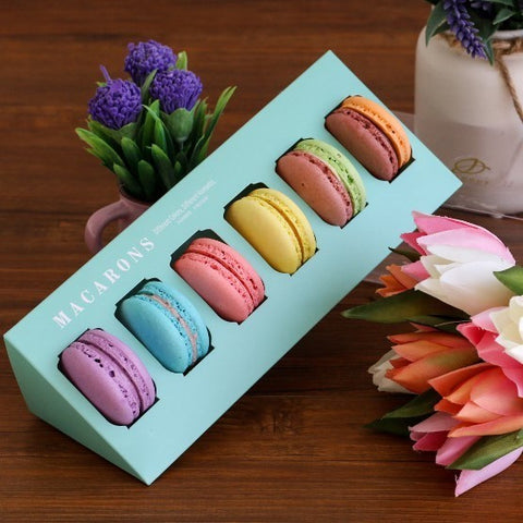 Premium Macarons (Tiffany Blue Box)