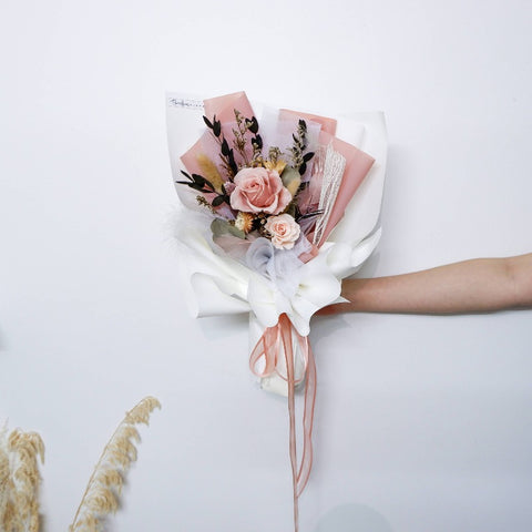 Pretty Preserved Flower Bouquet