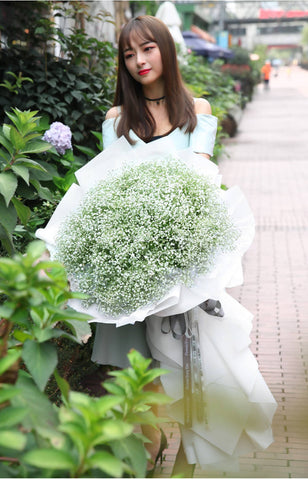 Giant Majestic Dreamy Baby Breath Bouquet