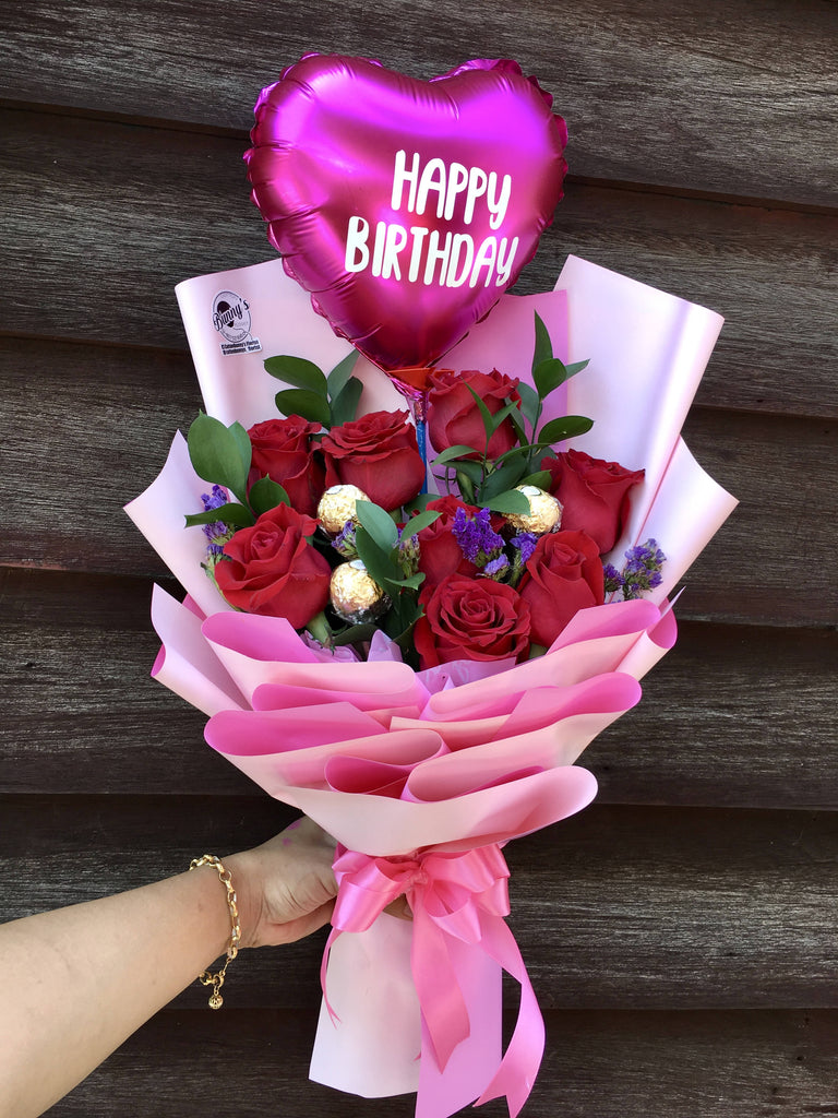 Flower Bouquet 3 Penang Delivery Only Giftr Malaysia S Leading Online Gift Shop