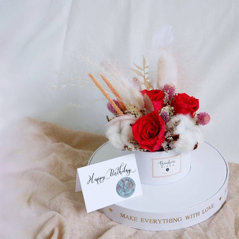 Angel Love Premium Preserved Flower Box