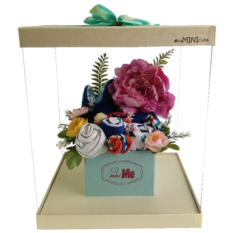 100 Days Gift Bouquet for New Born Baby Boy - HDB 010