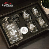 "Personalize ""Star Wars"" Whiskey Decanter Set (6-8 working days)"