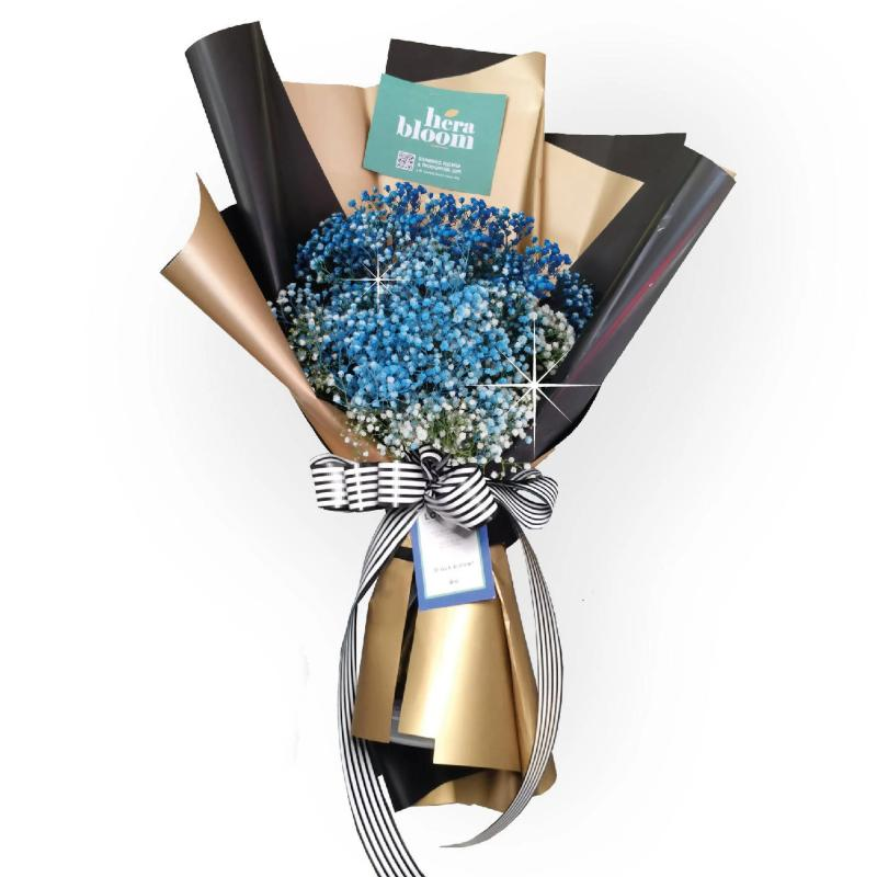 Blue Baby Breathe Bouquet