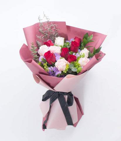 Mixed Roses Valentine's Special 24 (Valentine's Day 2019)