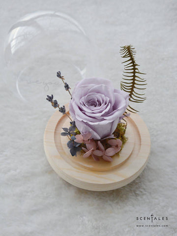 (Valentine's Day 2020) Tender Soul Preserved Flower Glass Globe