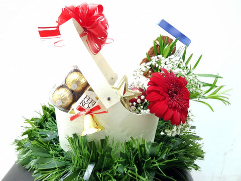 Christmas Chocolates Basket