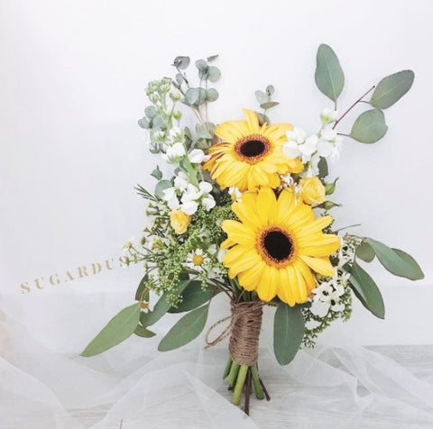 Joy Gerbera Bridal Bouquet