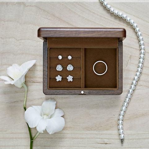 Personalized Wooden Jewelry Box (4-6 Working Days) - Mother's Day