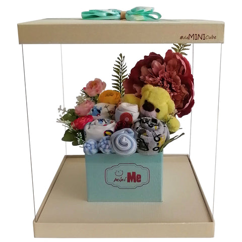 100 Days Gift Bouquet for New Born Baby Boy - HDB 008