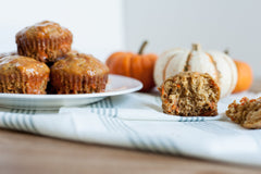 Biodynamic and Organic Carrot Muffins Recipe
