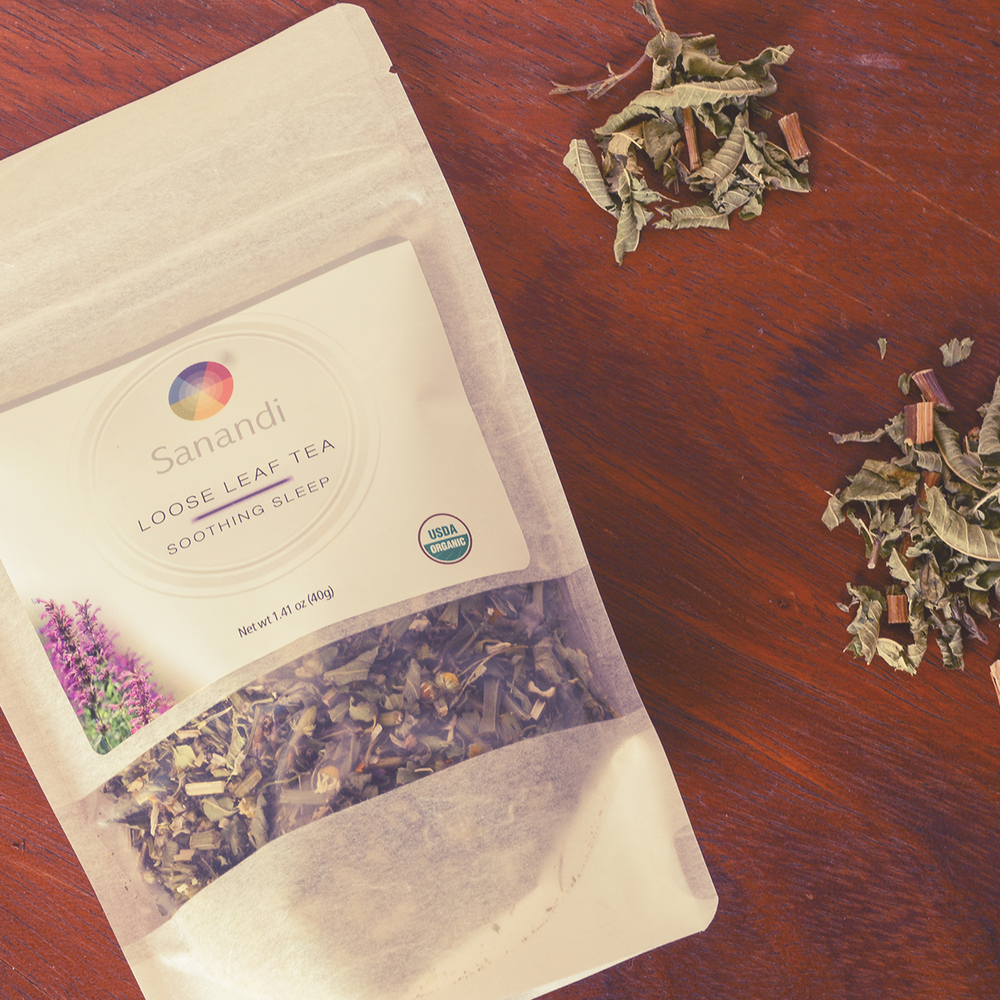 Functional Teas for relaxation and digestive system - Sanandi