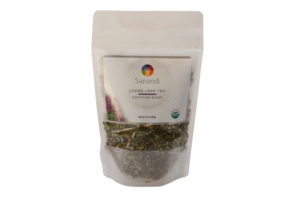 Loose Leaf Tea Soothing Sleep - Sanandi.com