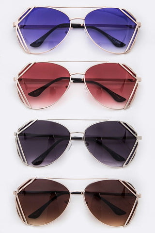 Two Way Street Framed Sunglasses