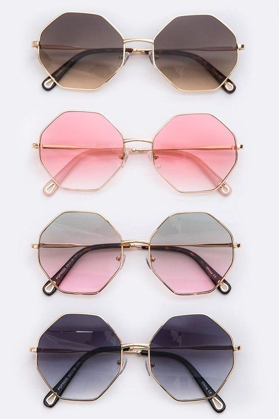 Have it All Geometric Sunglasses