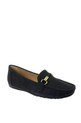 Long Day Moccasin Flats | Black
